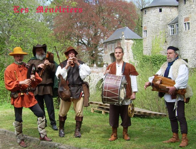 cornemuse, vielle à roue, chalumeau et percussions
