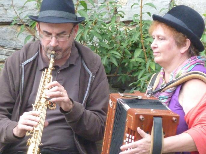 saxe et accordéon